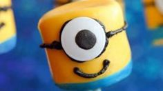 Grab some candy melts and get your Gru on! These adorable Despicable Me Minons are super simple to make. Just grab marshmallows and go!