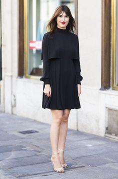 Invista em um vestido preto para todas as ocasiões