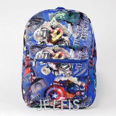 "Jelfis.com - Marvel Avengers Assemble 16"" Large Blue School Backpack for Kids or Adults, $20.95 (http://www.jelfis.com/marvel-avengers-assemble-16-large-blue-school-backpack-for-kids-or-adults/)"