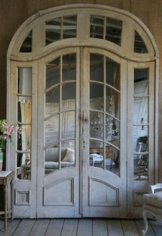 i love these old french doors