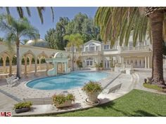 The Bel Air Mansion As Chateau D'Or