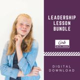 Leadership Lesson Bundle - Teach her About Leadership and Leadership Abilities, Leadership Lessons, Life Coach Training, Activities For Girls, Girl Scout Troop, Raising Girls, Student Council, School Programs, Social Skills