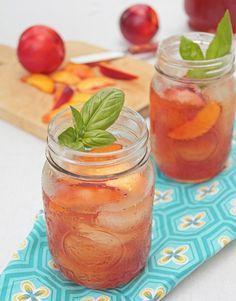 http://whatsheshaving.com/2011/08/07/nectarine-basil-iced-tea/