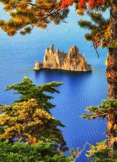 The Phantom Ship - Crater Lake, Oregon