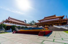 buddhist temple Celebration - A1 Party Buddhist Temple, Celebration, Stage, Mansions, House Styles, Outdoor Decor, Party, Home Decor, Mansion Houses