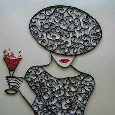 Arte de papel royos de papel sanitario pinteres for Utilisima espejos decorados