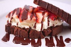 Chocolate Strawberry Mascarpone Grilled Cheese
