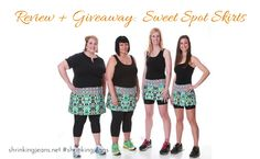 Review and Giveaway:  Sweet Spot Skirts #shrinkingjeans #ad #giveaway #running #skirt