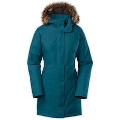 The North Face Women's Arctic Down Parka (16.645 RUB) ❤ liked on Polyvore featuring outerwear, coats, juniper teal, parka coat, teal coat, the north face, parka trench coat and blue parka