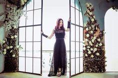 Black lace dress by Lanalan Photo by Thanhsun
