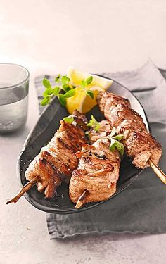 Honig-Fleisch-Fackeln Honey Meat Torches, a refined recipe from the pig category. Ratings: Average: Ø Barbacoa, Pork Recipe Honey, Shish Kebab, Grilling Sides, Cooking On The Grill, Dried Beans, Pizza Hut, How To Cook Chicken, Pork Recipes
