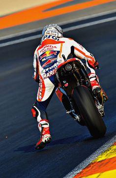 Marc Marquez (Photo l Michelin) Test in Valencia, spain