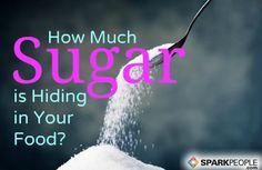 The Hunt for Hidden Sugar via @SparkPeople