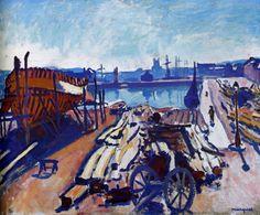 Albert Marquet - Port de Fécamp (1906)
