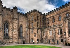 UNITED KINGDOM. COUNTY OF DURHAM, ENGLAND. Durham Castle and Cathedral.