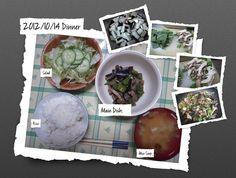 For Dinner on 14/Oct/2012