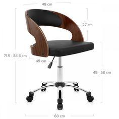 Silla de oficina con ruedas y giratoria El Corte Inglés Nash | silla ...