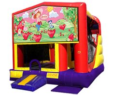 Strawberry Shortcake 4n1 Bounce House Combo...Perfect for a Strawberry Shortcake Party!