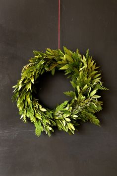 holiday wreath diy