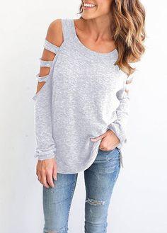 ce6de5bae6 Off Shoulder Bandage Women T shirt Blusas Roupa Mujder Long-Sleeved Ladies  T-Shirt Tee Tops Shirt Femininas 2016 Mujer