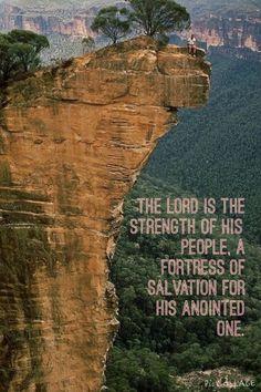 Psalms 28:8