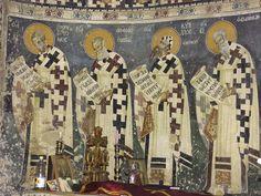 Byzantine Icons, Byzantine Art, Tempera, Fresco, Church Icon, Religious Icons, Mural Painting, Alexandria, Saints
