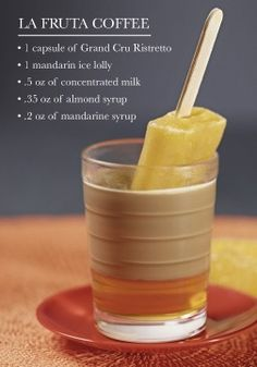 Bring together the flavors of Brazil into one refreshing dessert idea with this unique La Fruta Coffee recipe from Nespresso. Serve it using Grand Cru Ristretto to bring an exotic flair to your spring dinner party.