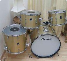 Premier / Steel / Gold / Drum / Percussion