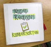 KindergartenWorks: guided reading - guided setup