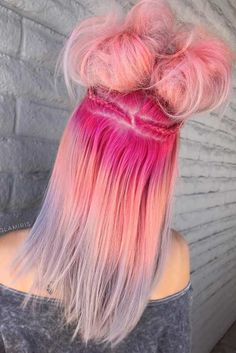 You will definitely need some pink ombre hair ideas, if you are a cheerful lady who wants to bring some more brightness to her life. See what we have got.