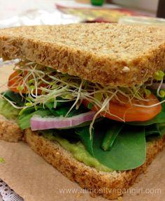 Almost Vegan Girl: Veggie Sandwich