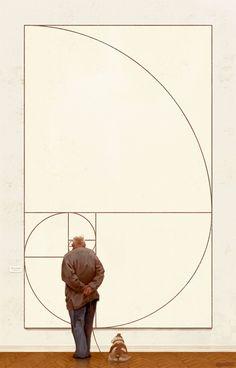 The golden ratio / Fibonacci spiral - Michael Urbanski