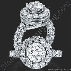 Another one of our designer hand-made diamond engagement rings from BloomingBeautyRing.com  #EngagementRings  http://www.BloomingBeautyRing.com
