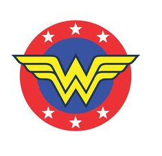 Items similar to Super Hero Woman Month Stickers on Etsy Wonder Woman Fan Art, Wonder Woman Logo, Wonder Woman Birthday, Wonder Woman Party, Superhero Backdrop, Superhero Party, Dibujos Toy Story, Womens Month, Pin Up Drawings