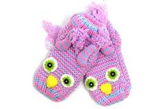 Owl Knit Baby Socks