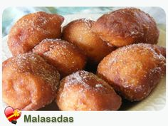 My favorite to eat when vacationing in Hawaii.  Leonard's Malasada's is the best but if you can't get the real thing, here is a recipe.  Malasadas Recipe - ILoveHawaiianFoodRecipes