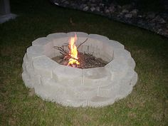 Fire Pit: Another project for this year