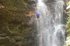 Canyoning - the perfect adventure for adrenaline lovers...Serendipity takes you into the jungle and teach you how to rappel down a waterfall...