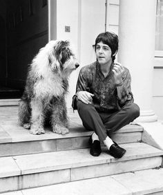 Paul McCartney at his St John's Wood house on his 25th birthday 18th June 1967