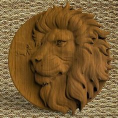 Lions Head Wood wall Plate wood wall round art Wooden Wall decor Wall hanging home decor pediment Wood Carving Designs, Wood Carving Patterns, Wood Carving Art, Wooden Wall Decor, Wooden Walls, Christian Wall Art, Wooden Animals, Hanging Art, Wall Plaques