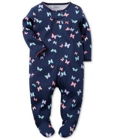 7365874d9d Carter s Baby Girls  Butterfly Coverall