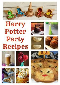 Harry Potter Recipes - Having a Harry Potter party? You're going to want Harry Potter food and these delicious recipes are perfect for any Harry Potter birthday! #harrypotterrecipes #harrypotterfood #harrypotterparty #harrypotterbirthday #harrypotter