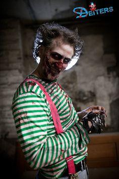 #behorror #creepy #costumes #psycho #makeup #halloween