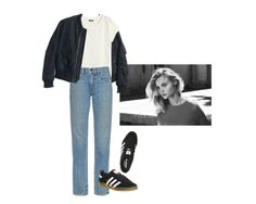 """#216"" by flaneurforever ❤ liked on Polyvore featuring H&M, Helmut Lang and adidas"
