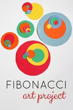 Fibonacci Art Project from @momandkiddo