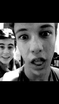Nash: Will you be my Valentine? Cameron: OH MY GGOOSSSSHH @cheryl ng Nash Grier @Cameron Daigle Daigle Dallas