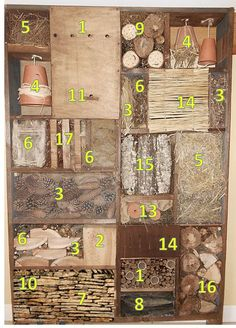 Homemade Insect Spray - No-one wants insects in their home but, there are many people who do not want to spray chemical insect sprays either. Bug Hotel, Eva Garden, Jardin Decor, Mason Bees, Bee Creative, Permaculture Design, Drying Herbs, Bird Houses, Indoor Plants