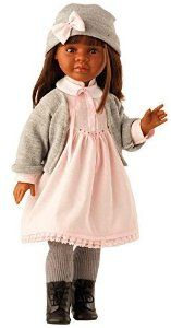 "Paola Reina Las Reinas Sharif African American 23.6"" Jointed Doll (Made in Spain) by Paola Reina: Amazon.co.uk: Toys & Games"
