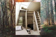 Tree house in Denmark. Beautiful.