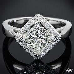 Charles Moissanite Engagement Solitaire Available – Fine Rings Engagement Solitaire, Wedding Rings Solitaire, Princess Cut Rings, Princess Cut Engagement Rings, Engagement Ring Cuts, Princess Wedding, Vintage Princess, Engagement Ideas, Halo Rings